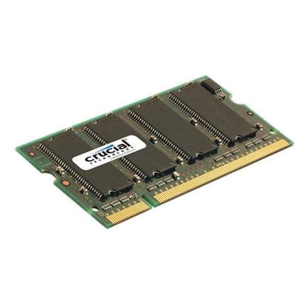 Crucial DDR 1GB SODIMM de 200 espigas  – Memoria SODIMM DDR