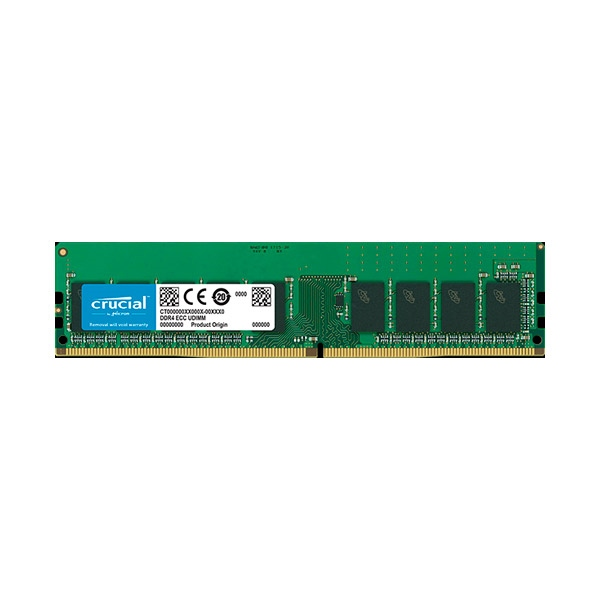 Crucial DDR4 2666MHz 16GB CL19 DR X8 ECC - Memoria RAM