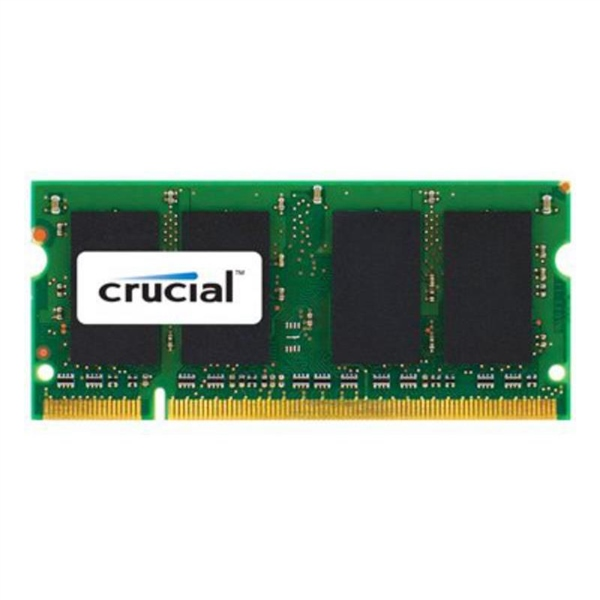 Crucial DDR2 800Mhz 2GB SO DIMM Apple – Memoria RAM