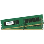 Crucial DDR4 2400MHz 8GB (2×4) CL17 SR x8 – Memoria RAM