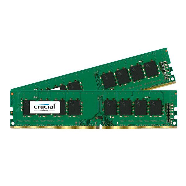 Crucial – DDR4 – 16 GB : 2 x 8 GB – DIMM de 288 espigas