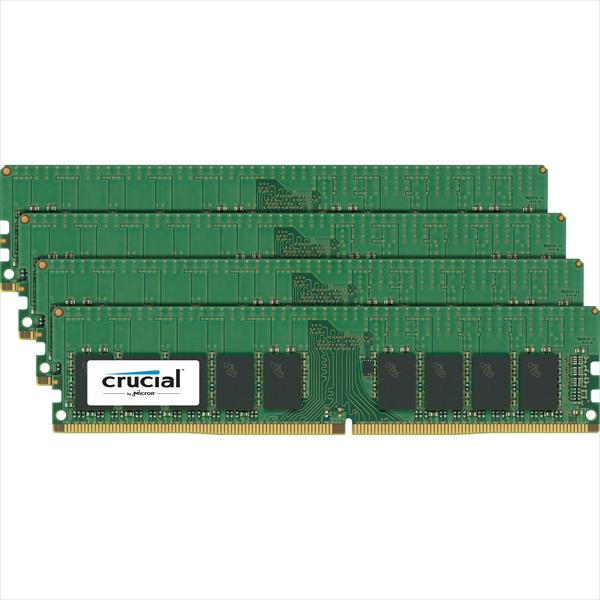 Crucial DDR4 2133Mhz 64GB (4 x 16GB) DIMM ECC 2RX8 – RAM