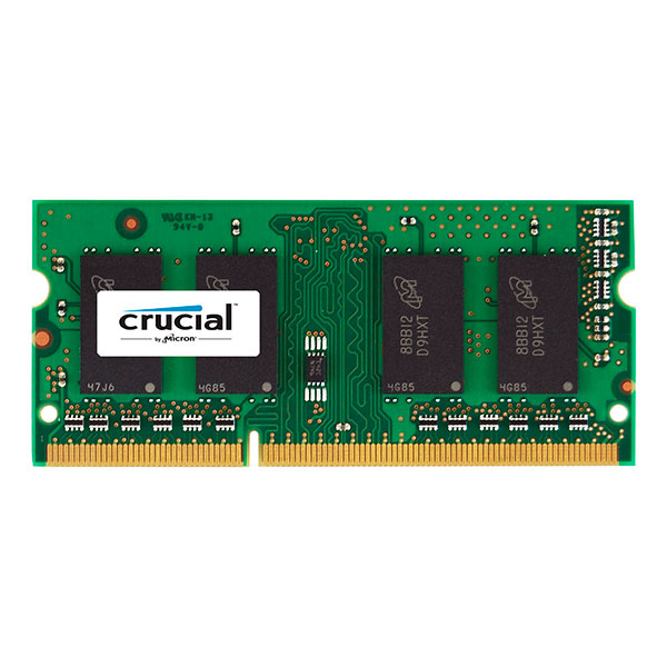Crucial – DDR3 – 8 GB – SO DIMM 204-PIN