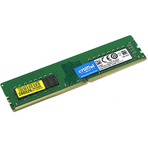 Crucial DDR4 2400MHz 8GB DIMM – Memoria RAM