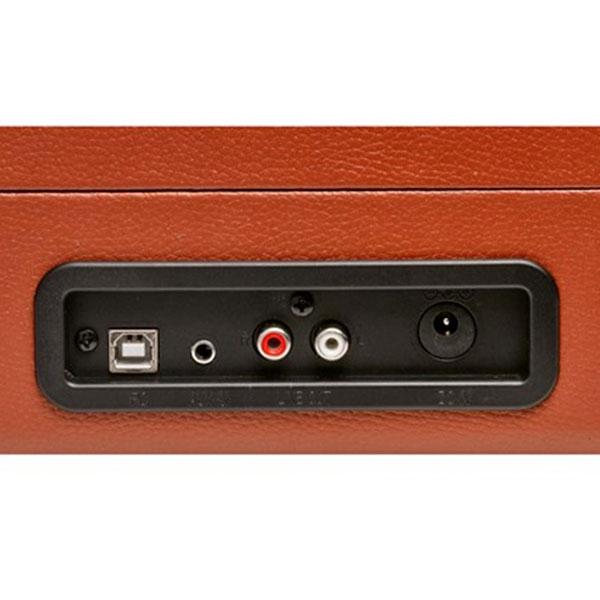 DENVER VPL-120 USB Software Grabacion Marron - Tocadiscos