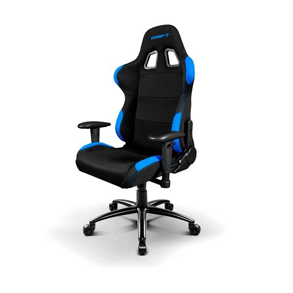 Silla Gaming Drift DR100 Negro / Azul – Silla