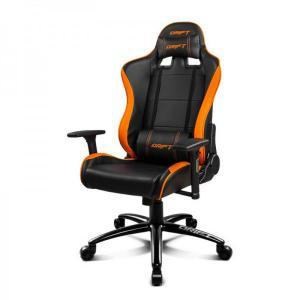 Silla Gaming Drift DR200 Negro y Naranja – Silla