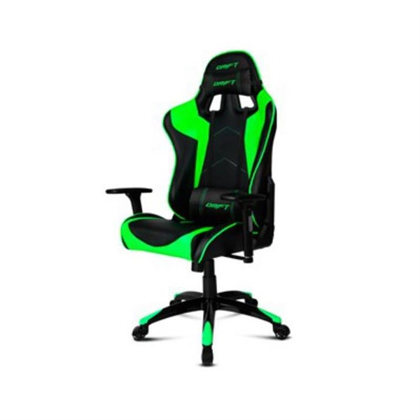 Silla Gaming Drift DR300 Negro y Verde – Silla
