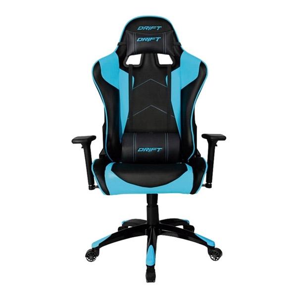 Silla Gaming Drift DR300 Negro y Azul - Silla
