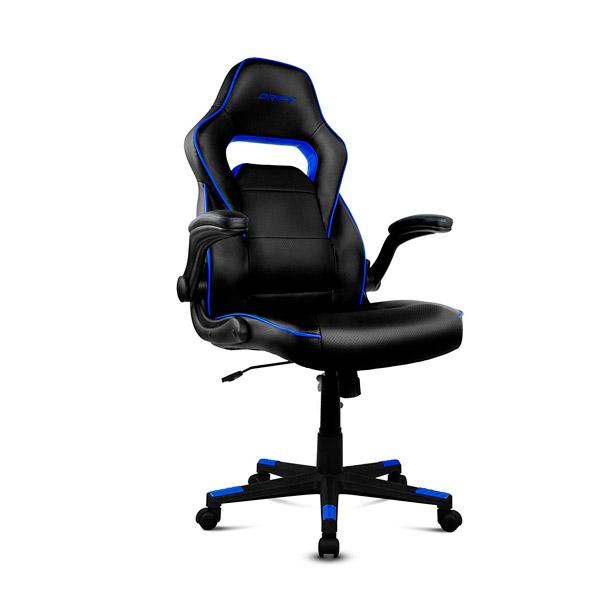 Silla Gaming Drift DR75 Negra/Azul - Silla