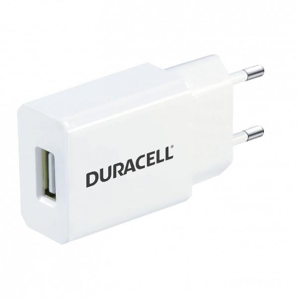 Duracell Cargador de Pared USB 5V 1A Blanco