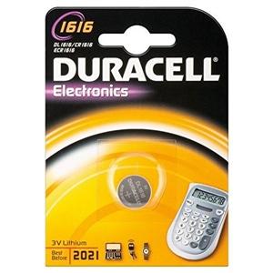 Duracell Pila Botón Litio CR1616 3V 1 unidad