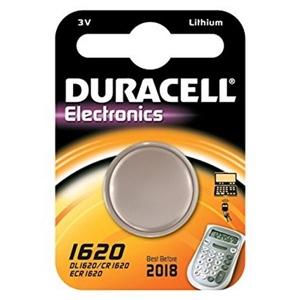 Duracell Pila Botón Litio CR1620 3V 1 unidad