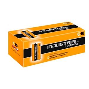 Duracell Pilas Alcalinas Industrial LR14 1.5V 10 unidades