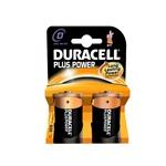 Duracell Pilas Alcalinas Plus Power D 1.5V 2 unidades