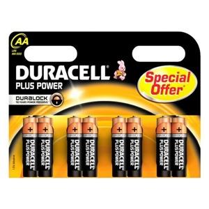 Duracell Pilas Alcalinas Plus Power AA 1.5V 8 unidades
