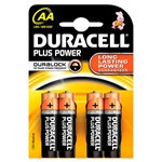 Duracell Pilas Alcalinas Plus Power AA 1.5V 4 unidades