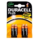 Duracell Pilas Alcalinas Plus Power AAA 1.5V 12 unidades