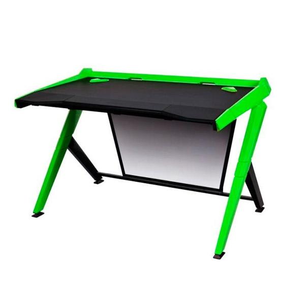 DXRacer GD/1000/NE negro / verde – Mesa gaming
