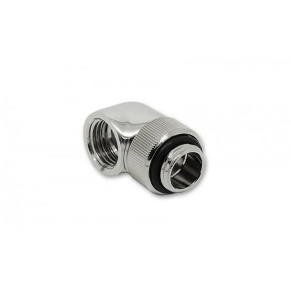 EKWB  EK-AF adaptador de 90 Grados G1/4 Nickel – Adaptador