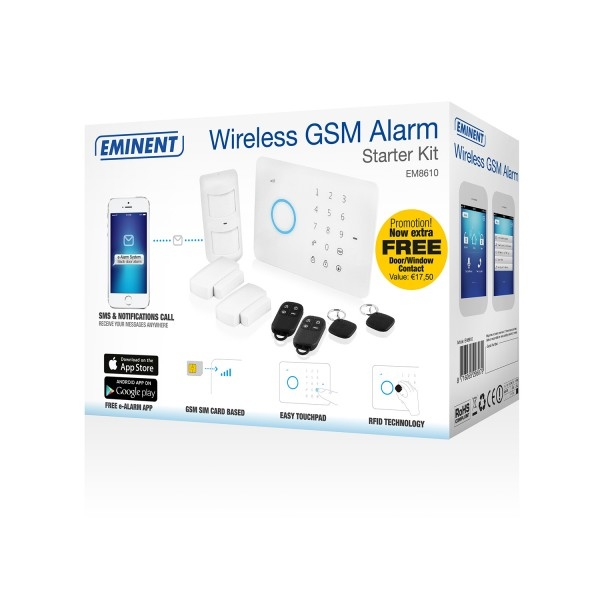 Eminent Starter Kit alarma Wireless – Alarma