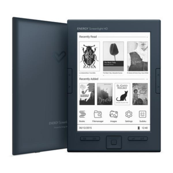 Energy eReader Screenlight HD – Libro Electrónico