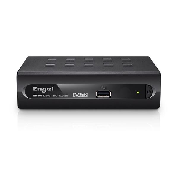 ENGEL RT6100T2 Receptor TDT HD Grabador - Sintonizador