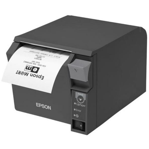Epson TM-T70 II USB / serie negra – Impresora de tiquets