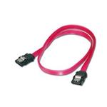 Equip SATA III 0.5m con clip de seguridad – Cable de datos