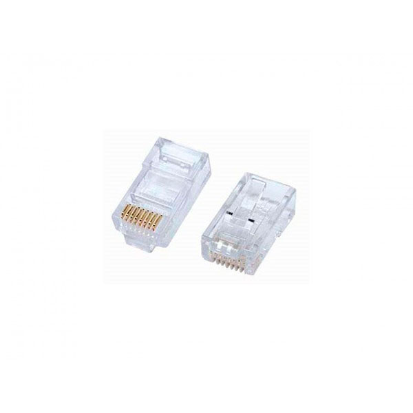 Equip conector RJ45 CAT 5e bolsa 100 unid – Conectores