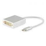 Equip USB Tipo C – DVI-I 15CM – Adaptador
