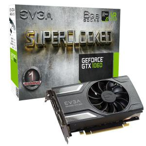 EVGA GeForce GTX 1060 SC Gaming, 6GB GDDR5 – Gráfica