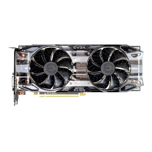 EVGA GeForce RTX 2070 Black Gaming 8GB - Gráfica