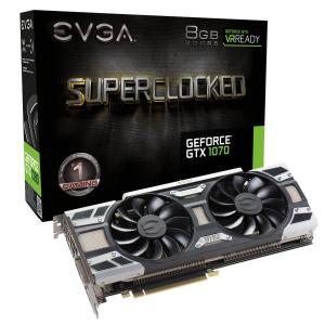 EVGA GeForce GTX 1070 SC Gaming ACX 3.0, 8GB GDDR5 – Gráfica