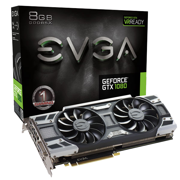 EVGA GeForce GTX 1080 Gaming ACX 3.0, 8GB GDDR5X – Gráfica