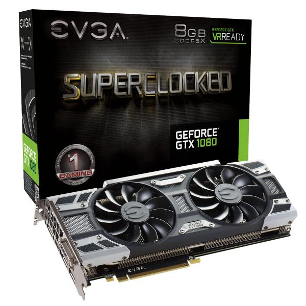 EVGA GeForce GTX 1080 SC Gaming ACX 3.0 8GB GDDR5X – Gráfica