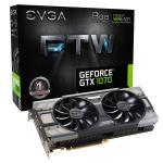 EVGA GeForce GTX 1070 FTW Gaming ACX 3.0, 8GB – Gráfica