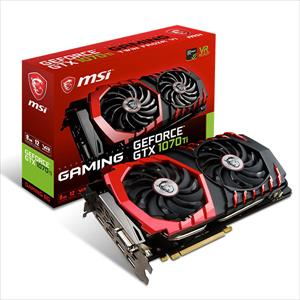 MSI Nvidia GeForce GTX 1070 Ti Gaming 8GB – Gráfica