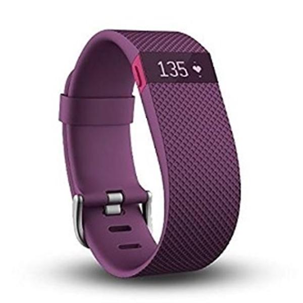 Fitbit Charge HR Grande ciruela - Pulsera de actividad
