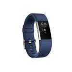 Fitbit Charge 2 Pequeña azul/plata - Pulsera actividad