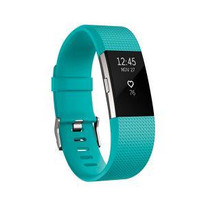 Fitbit Charge 2 Grande turquesa/plata – Pulsera de actividad