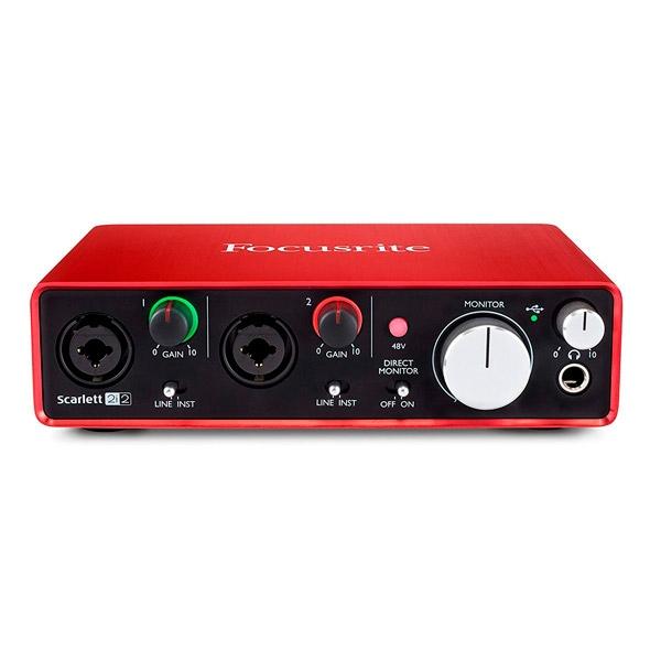Focusrite 2i2 (2nd Gen) USB - Tarjeta de Sonido