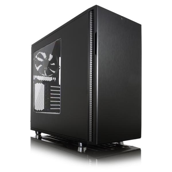 Fractal Design Define R5 Blackout Edition con ventana – Caja