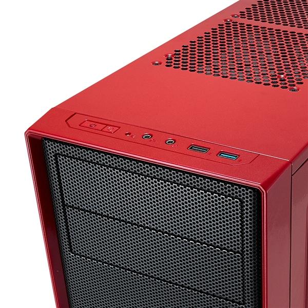 Fractal Focus G roja con ventana – Caja