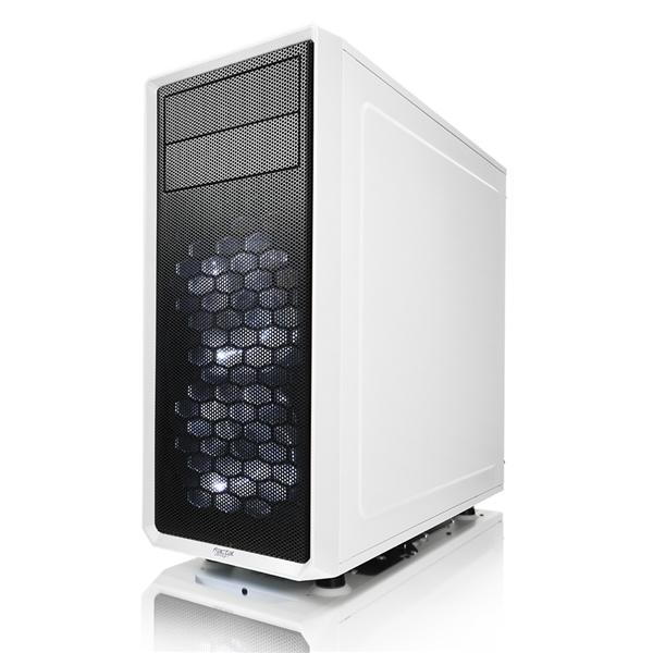 Fractal Focus G blanca con ventana – Caja