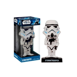 Figura Wacky Wobbler Storm Trooper Star Wars