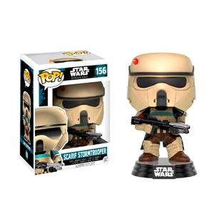 Figura POP Star Wars RO Scarif Stormtrooper Stripes Excl.