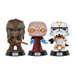 Figuras POP! Star Wars Tarfful Unhooded Emperor Utapau Clone