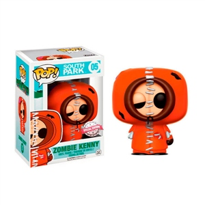 Figura POP! South Park Zombie Kenny Exclusive