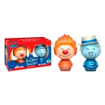 Figuras Dorbz The Year without a SC. Heat Miser & Snow Miser